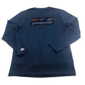 Patagonia Long Sleeve Logo Shirt UV Protection